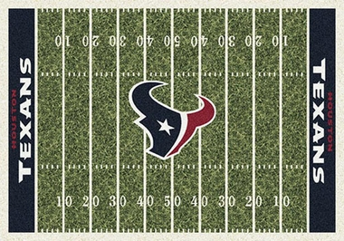 "Houston Texans 7'8"" x 10'9"" Premium Field Rug"