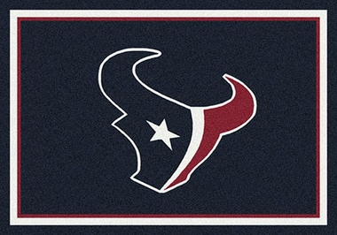 "Houston Texans 7'8"" x 10'9"" Premium Spirit Rug"