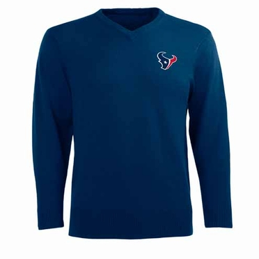 Houston Texans Mens Ambassador Sweater (Team Color: Navy)