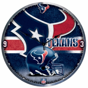 Houston Texans Big 18 Inch Hi Definition Clock