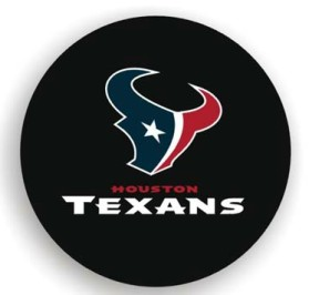 Houston Texans Black Tire Cover (Small Size)
