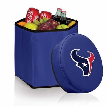 Houston Texans Bongo Cooler / Seat (Navy)