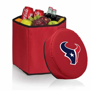 Houston Texans  Bongo Cooler / Seat (Red)