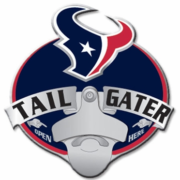 Houston Texans Bottle Opener Hitch Cover