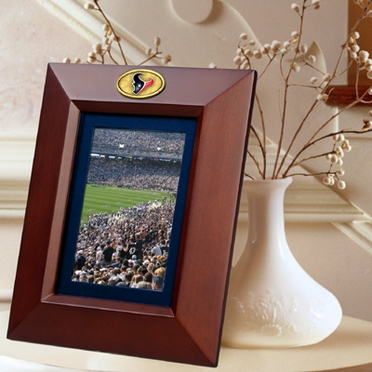 Houston Texans BROWN Portrait Picture Frame