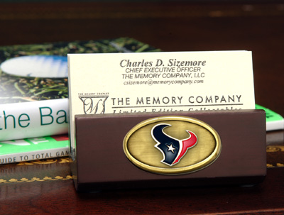 Houston Texans Business Card Holder