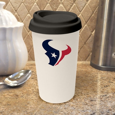 Houston Texans Ceramic Travel Cup