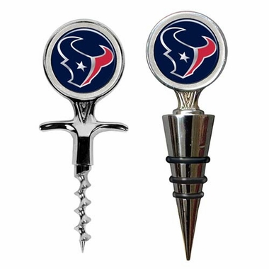 Houston Texans Corkscrew and Stopper Gift Set