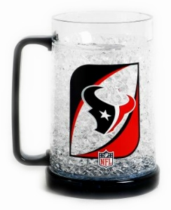 Houston Texans Crystal Freezer Mug