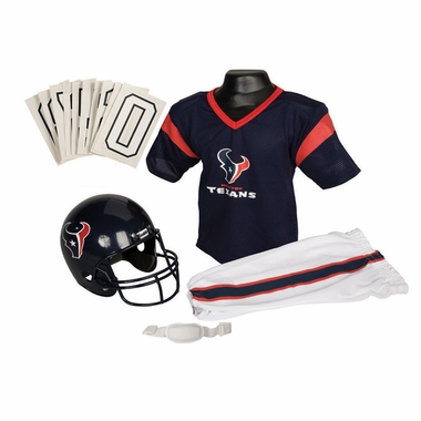 Houston Texans Deluxe Youth Uniform Set