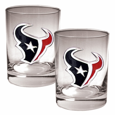 Houston Texans Double Rocks Set