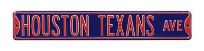 Houston Texans Dr Street Sign