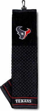 Houston Texans Embroidered Golf Towel