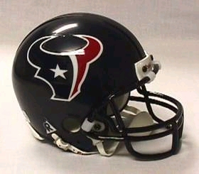 Houston Texans Replica Mini Helmet w/ Z2B Face Mask
