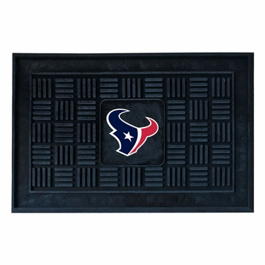 Houston Texans Heavy Duty Vinyl Doormat