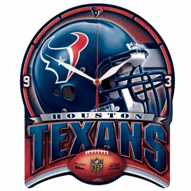 Houston Texans High Definition Wall Clock