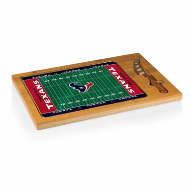 Houston Texans Icon 3 Piece Cheese Set