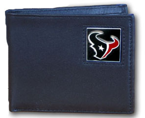 Houston Texans Leather Bifold Wallet (F)