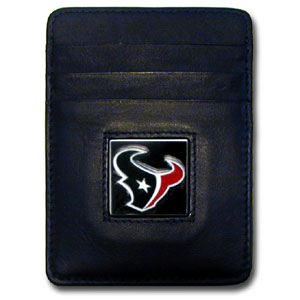 Houston Texans Leather Money Clip (F)