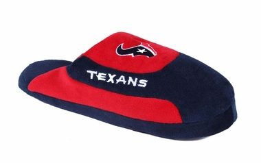 Houston Texans Unisex Low Pro Slippers