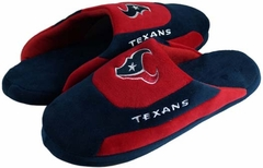 Houston Texans Low Pro Scuff Slippers