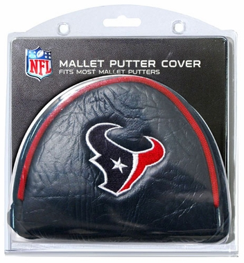 Houston Texans Mallet Putter Cover