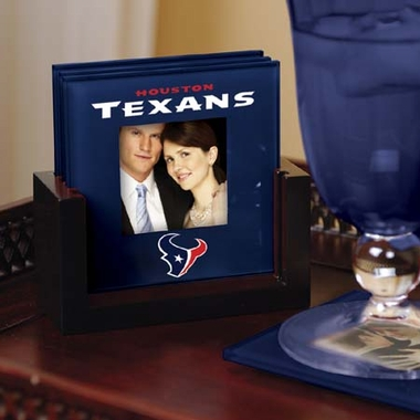 Houston Texans Photo Coaster Set