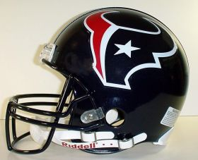 Houston Texans Riddell Full Size Authentic Helmet