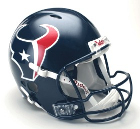Houston Texans Riddell Full Size Authentic Revolution Helmet