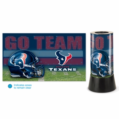 Houston Texans Rotating Lamp