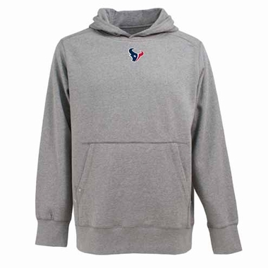 Houston Texans Mens Signature Hooded Sweatshirt (Color: Gray)