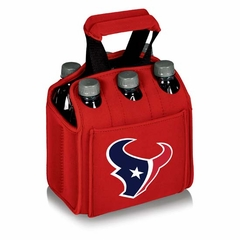 Houston Texans Six Pack (Red)