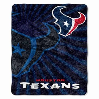 Houston Texans Super-Soft Sherpa Blanket