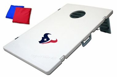 Houston Texans Tailgate Toss 2.0 Cornhole Beanbag Game