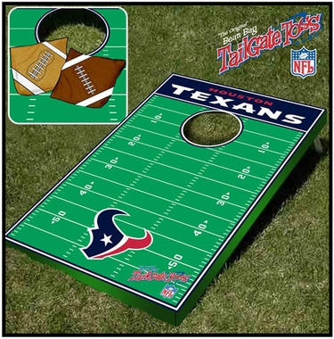 Houston Texans Tailgate Toss Cornhole Beanbag Game