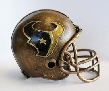Houston Texans Tim Wolfe Helmet Statue
