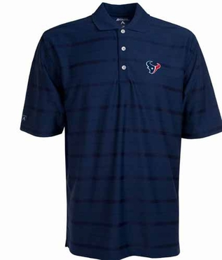 Houston Texans Mens Tonal Polo (Team Color: Navy)