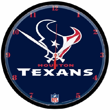 Houston Texans Wall Clock