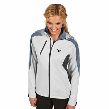 Houston Texans Womens Discover Jacket (Color: White)