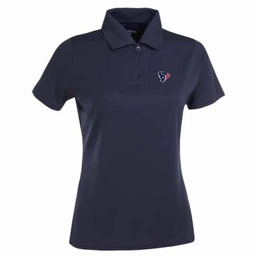 Houston Texans Womens Exceed Polo (Team Color: Navy)