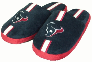 Houston Texans YOUTH Team Stripe Slide Slippers