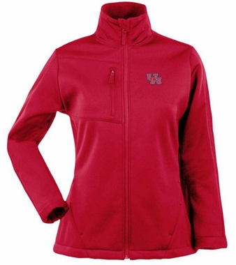Houston Womens Traverse Jacket (Team Color: Red)