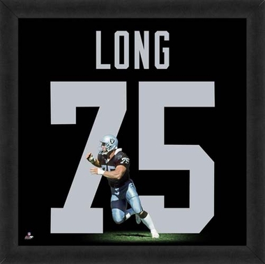"Howie Long, Raiders UNIFRAME 20"" x 20"""