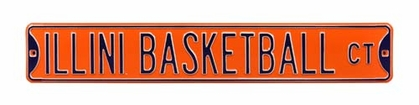 Illini Basketball Ct Parking Sign