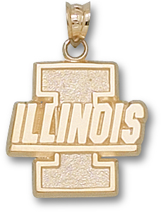Illinois 10K Gold Pendant