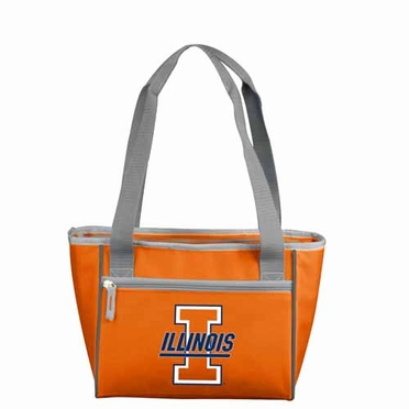 Illinois 16 Can Tote Cooler