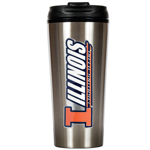 Illinois 16 oz. Thermo Travel Tumbler