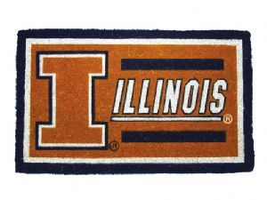 Illinois 18x30 Bleached Welcome Mat
