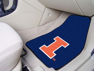 Illinois 2 Piece Car Mats