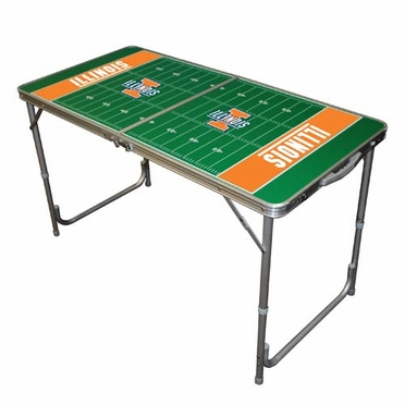 Illinois 2 x 4 Foot Tailgate Table